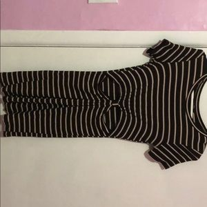 Dress with cute cutouts
